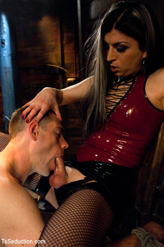 Lady Sonia Cock Milking With Mistress Red