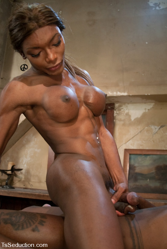 black mistress big boobs - ... Nasty Ebony shemale Mistress Amyiaa having fun with her big boobs