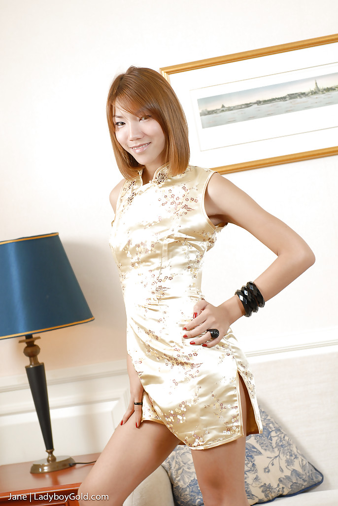 Olaf recommend best of cute dresses thai in ladyboys